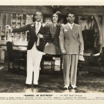 Astaire, Burns & Allen in a 1937 RKO publicity photo for the movie